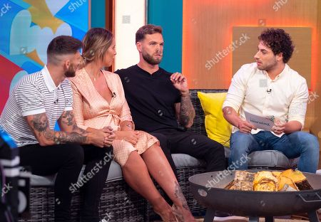 Stock Picture of Jake Quickenden, Jess Shears, Dominic Lever and Kem Cetinay