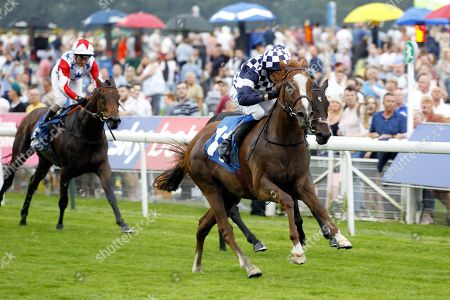 Irv and James Sullivan win the SBFM Commercial Cleaning Services Handicap at York for trainer Micky Hammond.