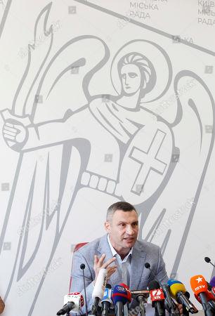 Mayor and former heavyweight boxing champion Vitali Klitschko