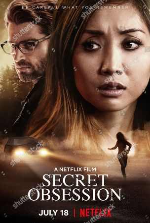 Secret Obsession (2019) Poster Art. Mike Vogel as Russell and Brenda Song as Jennifer Williams