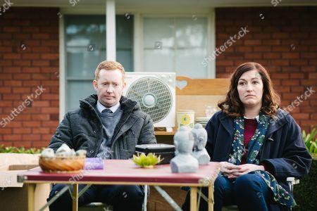 Luke McGregor as Daniel McCallum and Celia Pacquola as Emma Dawes