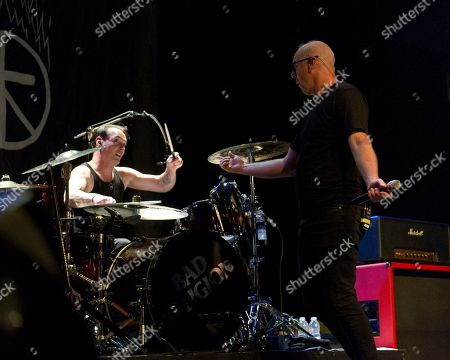 Stock Image of Bad Religion - Jamie Miller and Greg Graffin