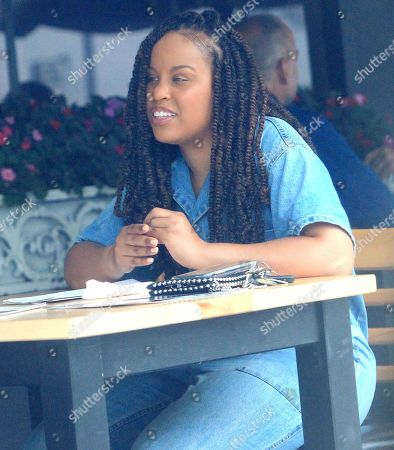 Editorial picture of Kellee Stewart out and about, Los Angeles, USA - 25 Jul 2019
