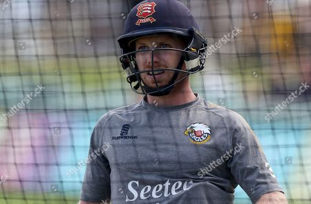 Adam Wheater of Essex warms up in the nets prior to Kent Spitfires vs Essex Eagles, Vitality Blast T20 Cricket at The Spitfire Ground on 26th July 2019