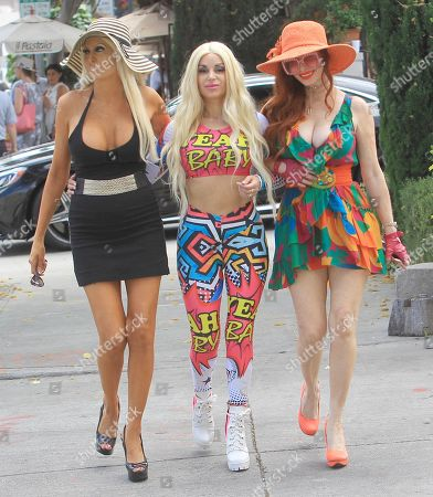 Tiffinie Tee, Marcela Iglesaias and Phoebe Price