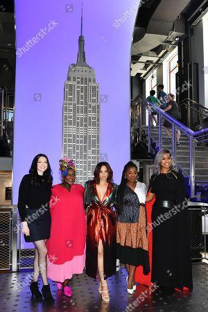 Laura Prepon, Danielle Brooks, Dascha Polanco, Uzo Aduba and Laverne Cox
