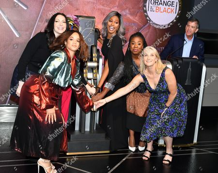 Editorial image of 'Orange Is The New Black' TV show cast at the Empire State Building, New York, USA - 26 Jul 2019