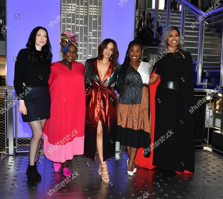 Laura Prepon, Danielle Brooks, Dascha Polanco, Uzo Aduba and Laverne Cox