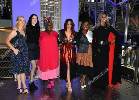 Piper Kerman, Laura Prepon, Danielle Brooks, Dascha Polanco, Uzo Aduba and Laverne Cox