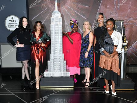 Laura Prepon, Dascha Polanco, Danielle Brooks, Piper Kerman, Laverne Cox and Uzo Aduba