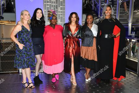 Editorial picture of 'Orange Is The New Black' TV show cast at the Empire State Building, New York, USA - 26 Jul 2019