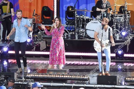Lady Antebellum - Charles Kelley, Hillary Scott and Dave Haywood