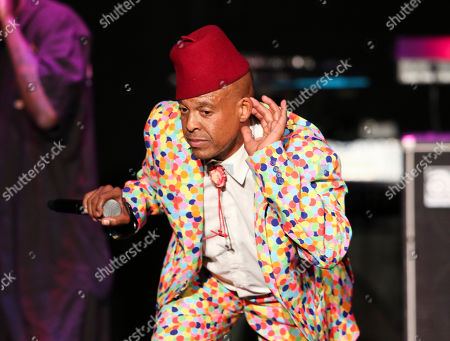 Angelo Moore with Fishbone performs as the opener for George Clinton & Parliament-Funkadelic at the Fox Theatre, in Atlanta