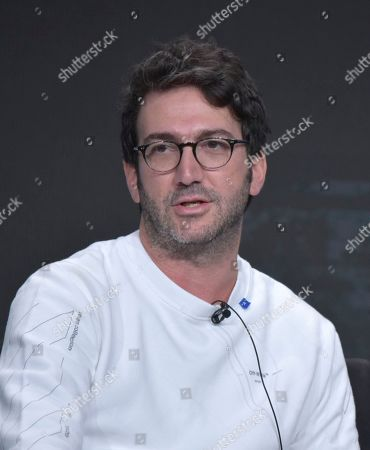 """Josh Schwartz participates in Hulu's """"Looking For Alaska"""" panel at the Television Critics Association Summer Press Tour, in Beverly Hills, Calif"""