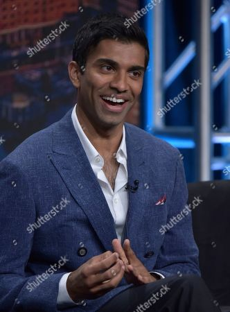 """Stock Image of Nikesh Patel participates in Hulu's """"Four Weddings and a Funeral"""" panel at the Television Critics Association Summer Press Tour, in Beverly Hills, Calif"""