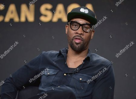 "RZA, co-creator, writer and executive producer, participates in Hulu's ""Wu-Tang: An American Saga"" panel at the Television Critics Association Summer Press Tour, in Beverly Hills, Calif"