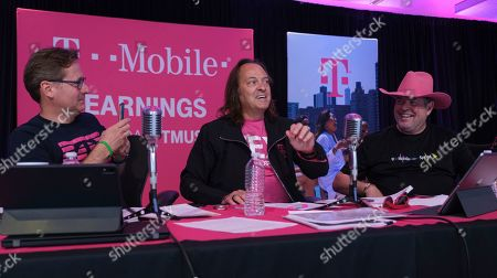 Editorial picture of T-Mobile Q2 2019 Earnings Call, Bellevue, USA - 25 Jul 2019
