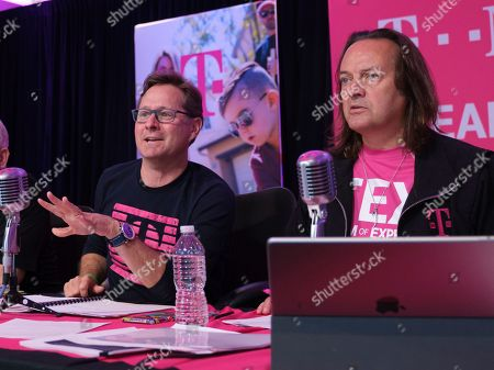 Editorial photo of T-Mobile Q2 2019 Earnings Call, Bellevue, USA - 25 Jul 2019