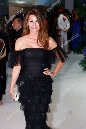 Haute couture designer Isabell Kristensen attends the 71st Monaco Red Cross Ball Gala, in Monaco, 26 July 2019.