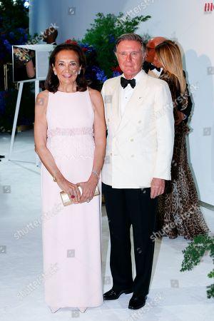 Stock Photo of Gio Repossi (L) and Alberto Repossi attend the 71st Monaco Red Cross Ball Gala, in Monaco, 26 July 2019.