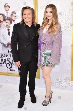 Stock Photo of Tony Cavalero and Annie Cavalero
