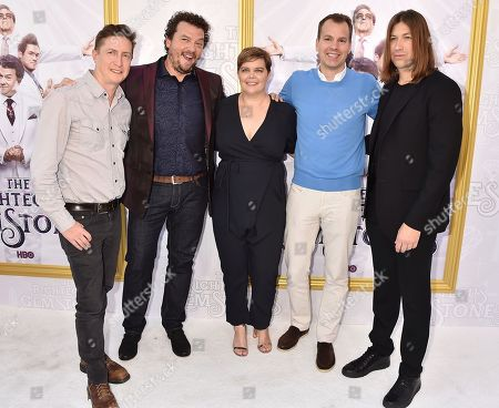 Stock Photo of David Gordon Green, Danny McBride, Amy Gravitt, Casey Bloys and Jody Hill