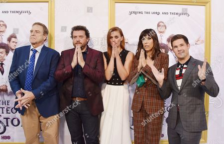 Editorial picture of 'The Righteous Gemstones' TV show, Arrivals, Paramount Studios, Los Angeles, USA - 25 Jul 2019
