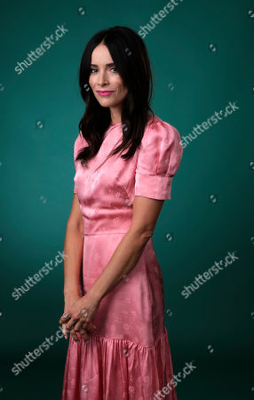 """Abigail Spencer, a cast member in the Hulu series """"Reprisal,"""" poses for a portrait during the 2019 Television Critics Association Summer Press Tour at the Beverly Hilton, in Beverly Hills, Calif"""