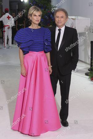 Karin Viard and Michel Drucker