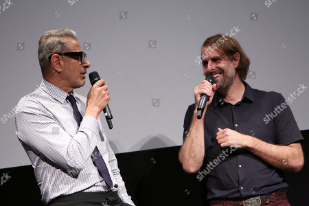 Stock Photo of Jeff Goldblum and Rick Alverson (Director)