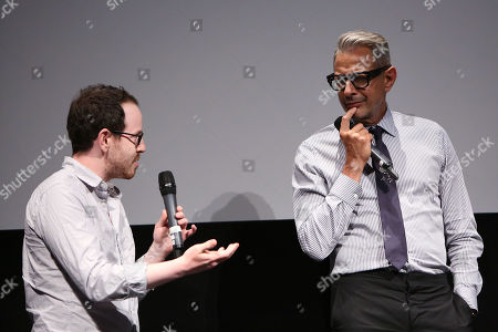 Ari Aster and Jeff Goldblum