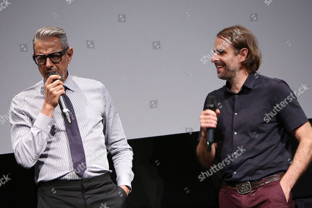 Stock Picture of Jeff Goldblum and Rick Alverson (Director)