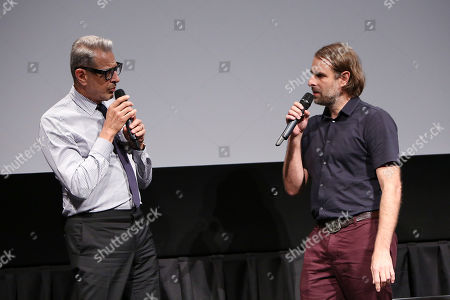 Jeff Goldblum and Rick Alverson (Director)
