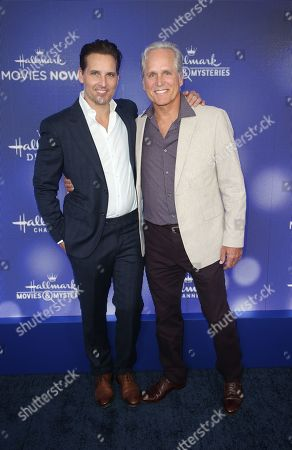Stock Picture of Peter Facinelli, Gregory Harrison