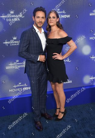 Stock Photo of Michael Rady and Rachael Kemery