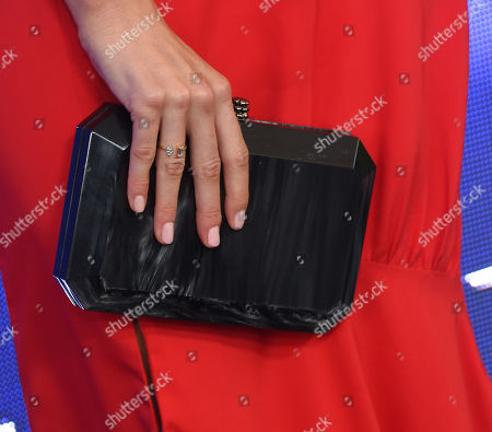 Stock Picture of Jessy Schram, bag detail