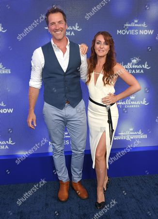 Paul Greene and Katie Austin