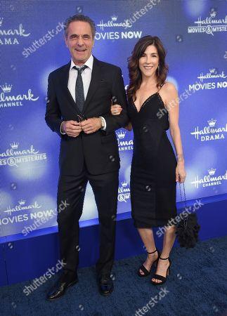 Stock Image of Robin Thomas and Christine Collins
