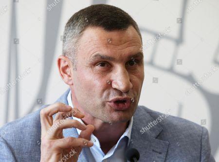 Vitali Klitschko speaks