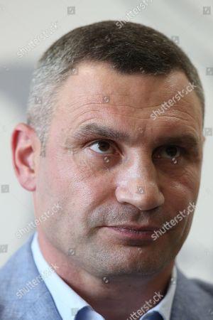 Stock Image of Vitali Klitschko speaks