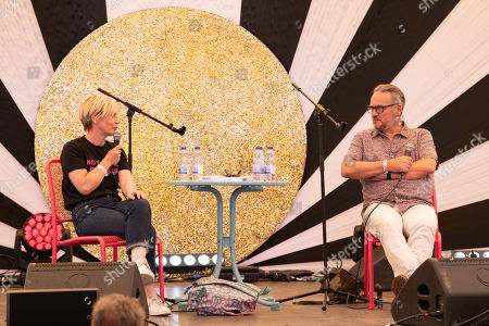 Miranda Sawyer in conversation with Charlie Higson