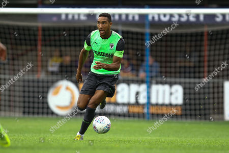Terrell Thomas of AFC Wimbledon during Hampton & Richmond Borough vs AFC Wimbledon, Friendly Match Football at the Beveree Stadium on 27th July 2019