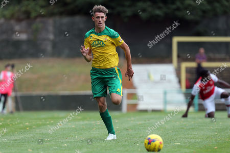 Max Ryan of Hitchin Town during Hitchin Town vs Arsenal, Friendly Match Football at Top Field on 27th July 2019