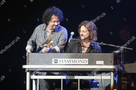 Stock Image of Steve Lukather and Gregg Rolie