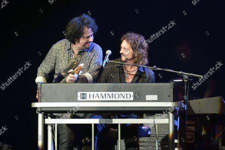 Steve Lukather and Gregg Rolie
