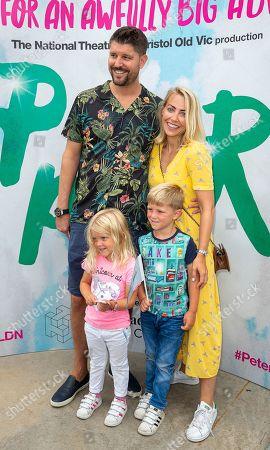Alex Goward, Laura Hamilton and children