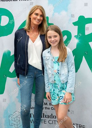 Sally Bercow and daughter