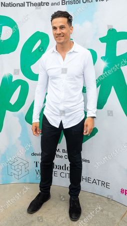 Stock Image of Aaron Sidwell