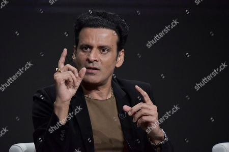 """Manoj Bajpayee participates in the Amazon Prime Video """"The Family Man"""" panel at the Television Critics Association Summer Press Tour, in Beverly Hills, Calif"""