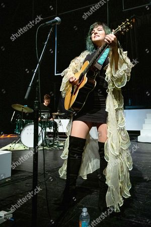 Editorial picture of Phoebe Ryan in concert, The Fillmore, Miami Beach, Florida, USA - 26 Jul 2019